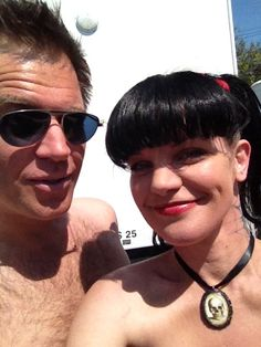 michael weatherly and pauley perrette Ncis Abby, Ncis New, Ncis Series, Tv Series, Pauley Perrette Ncis, Ncis Rules, Ncis Characters, Abby Sciuto, Ncis Cast