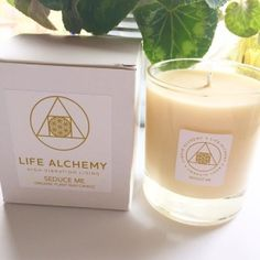These gorgeous candles are made from organic, plant based wax (suitable for vegans). They burn for up to 60 hours at a low temperature, specially designed so that you can use the wax as a massage oil within about 40 minutes of lighting the candle. Utterly blissful!