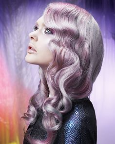 Northern Lights by Anne Veck on Bangstyle, House of Hair Inspiration