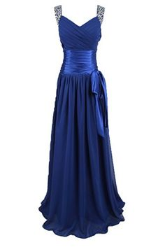Sunvary 2013 Chiffon Bridesmaid Dress Formal Gowns Prom Gowns with Rhinestones- US Size 2- Royal Blue Sunvary http://www.amazon.com/dp/B00BJGNVM8/ref=cm_sw_r_pi_dp_WGofub1Z9RR0C