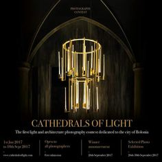 € 2,000 Cash & Exhibition Chance in Cathedrals Of Light Photography Contest @Italy. Global entry till 10th Sept.. http://www.cathedralsoflight.com/