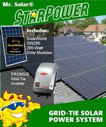 Mr Solar Starpower 2280 Watt Grid Tie Solar Power System Kit In 2020 Solar Power System Solar Power Solar