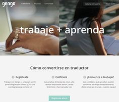 Buscar trabajo de traductor en Gengo