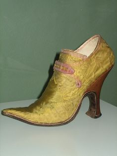 Mid-18th century high-heels | Flickr - Photo Sharing!