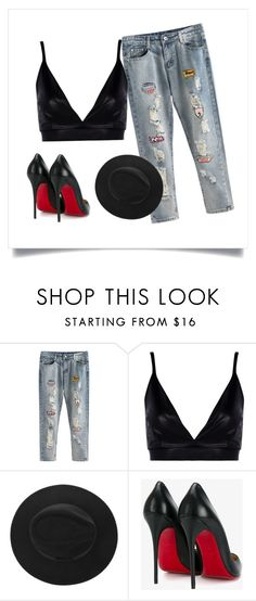 """Untitled #1"" by jelenakeser on Polyvore featuring Boohoo and Christian Louboutin"