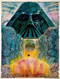 Darth Vader Pop Art - Philippe Druillet