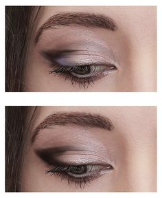winged eye makeup for hooded eyes