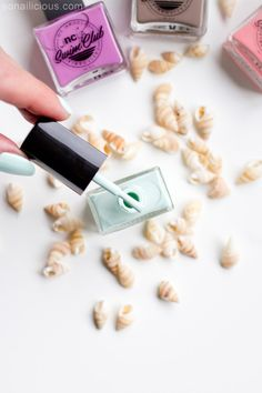Beautiful mint polish - the new NCLA Take A Dip. #ncla #new #nails