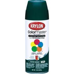 Krylon 12oz Satin Touch Spray in Hunter Green Satin (K05350201) - Spray Paint - Ace Hardware