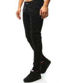aeb64ce00d31 Tmavomodré riflové nohavice pánske