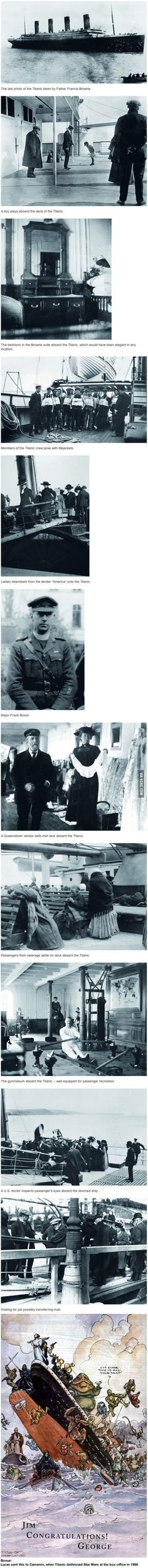 Some Pictures Of The Titanic You've Never Seen