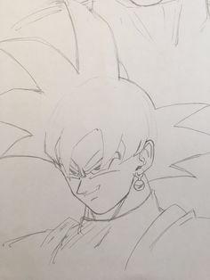 Girly Drawings, Anime Drawings Sketches, Anime Sketch, Black Goku, Z Arts, Bike Art, Character Drawing, Anime Demon, Dragon Ball Z