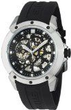 Stuhrling Original Men's 539.33161 Leisure Gen-X Crucible XT Automatic Skeleton Black Rubber Strap Watch