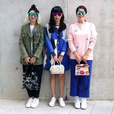 It is no secret that Nicole Wong (also known by her moniker NC Wong) is the go-to girl for Seoul Fashion Week, rubbing shoulders with the likes of @ireneisgood and Korean fashion designers. We got mesmerised while going through the NCWONGinkorea hashtag on Instagram, populated by #OOTD shots at Dongdaemun Design Plaza with her signature bangs and eclectic sense of style. Nicole shares her take on Korean fashion and the city's best street food.