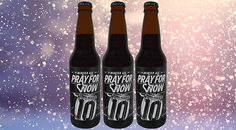 10 Barrel Brewing Company's Pray For Snow is a malty flurry of herbal hop complexity that will keep you toasty warm this winter. 10 Barrel, Brewing Company, Flakes, Craft Beer, Ale, Herbalism, Pray, Snow, Seasons
