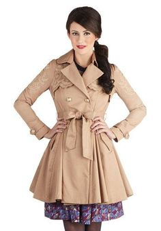 Image result for modcloth coat lace