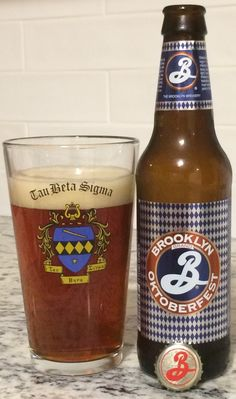 A very solid Oktoberfest from one of the most constantly good American Breweries: Brooklyn Brewery. #Craftbeer #Beer