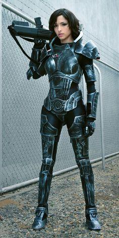 Mass Effect's Commander Shepherd