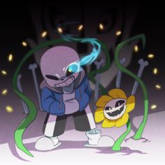 I think sans&Flowey is the strongest combination in UNDERTALE =)