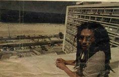 Bob Marley at Copacabana Palace Hotel, Copacabana, Rio de Janeiro, Brasil,  March 1980