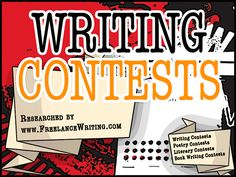 Writing Contests/Poetry Contests