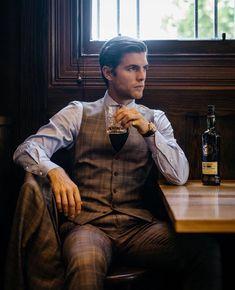 hermenmenswear:    @samwines_ in his custom Hermen three piece. (at Thirty Eight Chairs - Carlton North)
