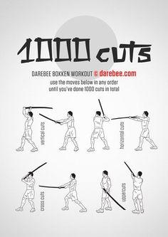 1000 Cuts Workout