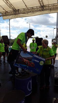 Ganador categoría masculina 5K en la #CarreraPorLaPolicía