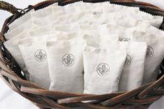 Lavender Sachet Wedding Favors, Rustic Wedding Shower Favors, Fleur de Lis Decor, Lavender Aromatherapy
