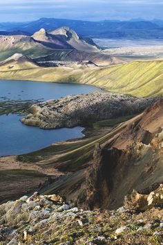 Landmannalaugar is in the Fjallabak Nature Reserve in the highland of Iceland. It is at the edge of Laugahraun lava field that was formed in an eruption around the year Photo by Brynjar Ágústsson Places Around The World, The Places Youll Go, Travel Around The World, Places To Visit, Around The Worlds, Beautiful Islands, Beautiful World, Beautiful Places, Iceland Island