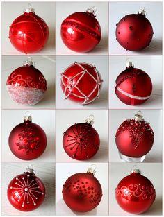 Zelf kerstballen decoreren