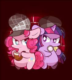 Detective pinkie pie , Assistant twilight by ILifeloser.deviantart.com on @deviantART