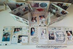 Card e Scrap: Album con finestre Extra-large