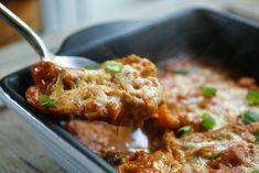 Clean Chicken enchilada casserole