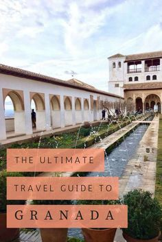 Granada in Southern Spain is an absolute gem. It's my favourite city in the ENTIRE world. After my seventh visit, I thought it was about time that I made the best ever travel guide to the city
