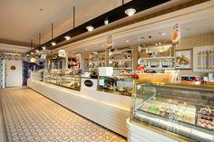 Mado Vialand Bakery Design, Cafe Design, Interior Design, Starting A Coffee Shop, Nest Design, Cafeteria Design, Home Interior Design, Interior Designing, Home Decor