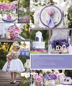 Editorial Tabletop Design| Pink and Purple Whimsical Wedding Design | Allyson VinZant Weddings + Happy Planning | http://www.allysonvinzant.com/our-2013-brides-of-oklahoma-tabletop/