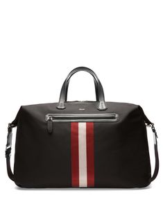 Bally Camer Nylon Weekender Bag
