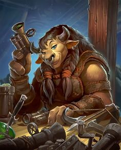 ✔ Card Name: Grimestreet Smuggler Artist: Sean McNally Art Warcraft, World Of Warcraft 3, Character Portraits, Character Art, Character Design, Character Concept, Concept Art, Skyfall, Dnd Characters