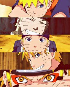 Naruto Uzumaki, freaking love this kid and his character progression!