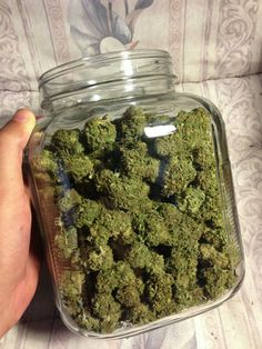 Storing your buds in jars is the only way to smoke, keeps em fresh!