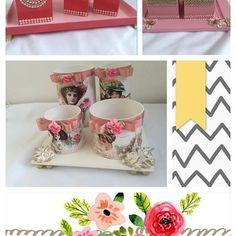 Lindos kits para decorar seu espaço e organizar sua maquiagem. #love #amor #mariadiva #makeup #maquiagem #decoracao #lavabo