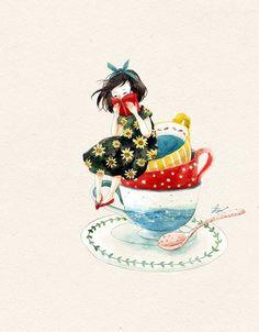 Tea & books :)