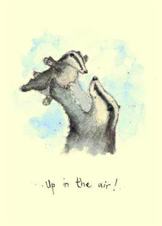 IF82 Up in the Air - A Two Bad Mice card by Fran Evans