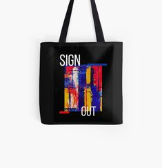 Promote | Redbubble Sign Out, Promotion, Reusable Tote Bags, Signs, Shop Signs, Sign
