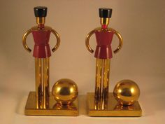 Art Deco Chase brass and bakelite Sentinel by CattleDogModern