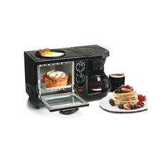 3-in-1 Multifunction Breakfast Deluxe- Black