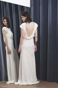 TOP HELOISE - Stéphanie Wolff Paris #collection2017 #wedding #robedemariéesurmesure #créatriceparis Crédit photo : Alice Bee