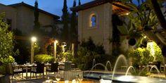 The secret garden at InterContinental Aphrodite Hills in Cyprus