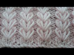 Buğday Başağı Örgü Modeli - YouTube Easy Knitting Patterns, Knitting Stitches, Knitting Designs, Baby Knitting, Stitch Patterns, Crochet Patterns, Knitting Videos, Woolen Craft, Booties Crochet
